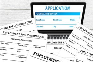 Application for work - Finding a job in North Miami after college
