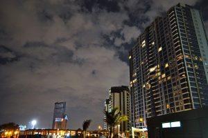Jeddah, SA in night.