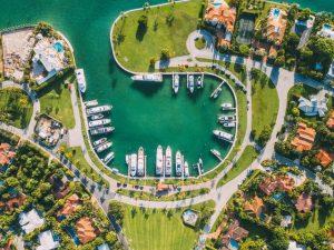 Miami air view