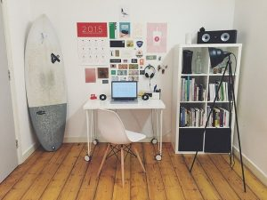 Home, office.